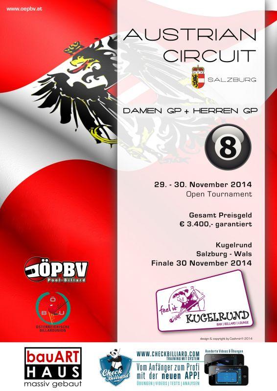 Salzburg Grand Prix für Damen und für Herren