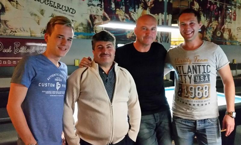 Wallner Marcus, Duran Selim, Daniel Konrad und Cocron Jürgen